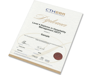 Level 4 Diploma In Hospitality Management